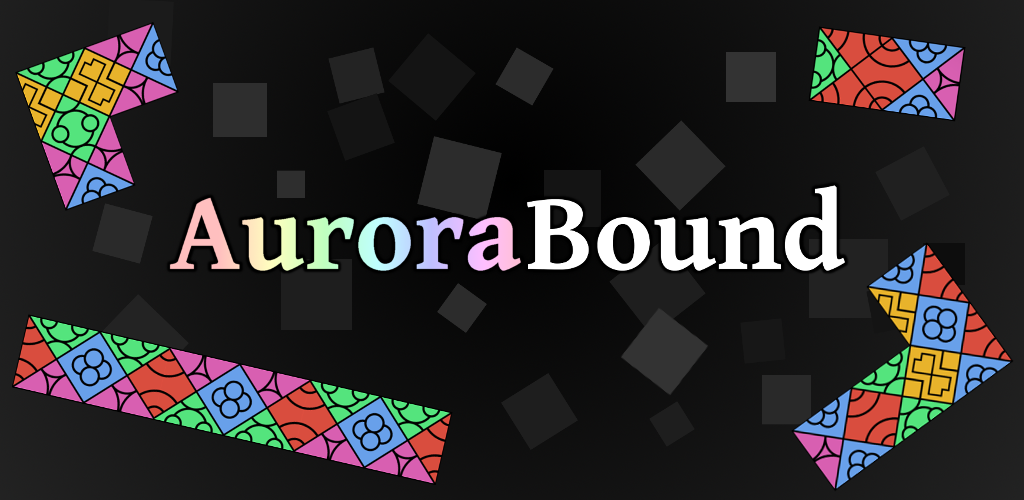 AuroraBound promotional android logo